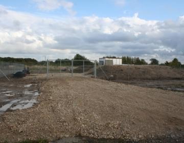 Hiiumaa reoveepuhastusjaama aed ja väravad