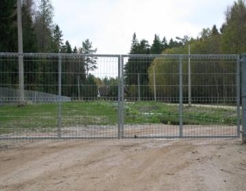 Vihasoo reoveepuhastusjaama värav